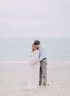 Inspiration For Pregnancy and Maternity : Elegant Laguna Beach Maternity Photos