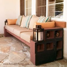 How To Repurpose Cinder Blocks In Home And Yard Decor