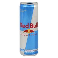 Red Bull Sugar Free Energy Drink 12 oz