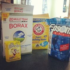 DIY Dishwasher Detergent