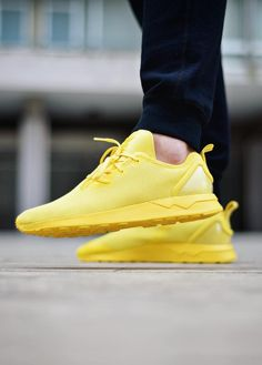 REALLY !!!!!   adidas Originals ZX Flux ADV: Yellow