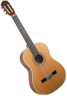 Lucida LK-6 Cedar Top Student Classical Guitar *** Learn more by visiting the image link.