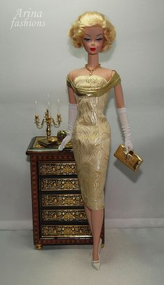 Gold Rush | Arina Fashions | Real fashions for Silkstone Barbie and Fashion Royalty Dolls