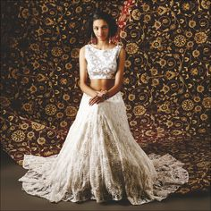 The Azra #lehenga by #Anitadongre. #gottapatti #indian #occasionwear.