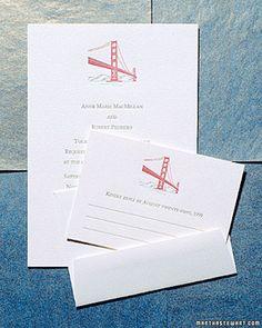 Custom wedding logo design by anthologiepress fabulous city scape san francisco wedding invitations stopboris Choice Image