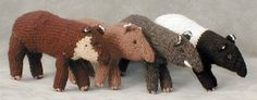 """Tapir and Friends Animal Store (Realistic Stuffed Animals and Plastic Animals): """"T"""" is for Tapir!!! . . . and T-rex and Toucan"""