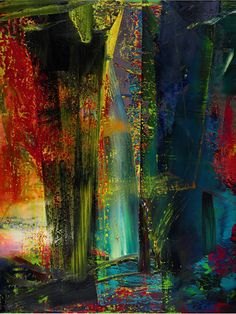 Abstraktes Bild, Gerhard Richter
