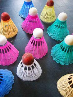Badminton - badminton birdies - tweet tweet!