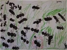 de m van mier Ant Crafts, Insect Crafts, Diy For Kids, Crafts For Kids, Forest School Activities, Spring Art Projects, Kindergarten Crafts, Toddler Fun, Fauna