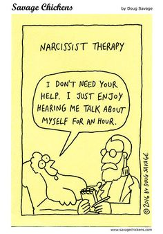 Funny Cartoons, Funny Memes, Hilarious, Narcissist Humor, Savage Chickens, Psychology Humor, Positive Psychology, Therapy Humor, Abuse Quotes