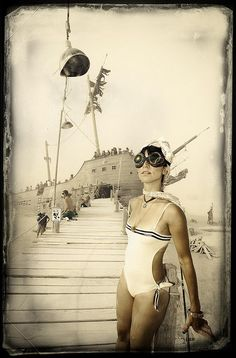 Burning Man 2012 by *christopher*, via Flickr