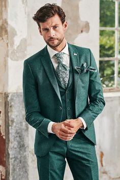 Wedding Men, Wedding Suits, Wedding Attire, Groom Attire, Groom And Groomsmen, Green Suit Men, Green Wedding Suit, Mens Casual Suits, Men's Business Outfits