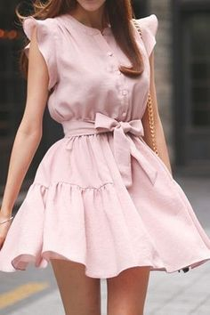 Clothes Light Pink Outfit From Bershka Simple Dresses, Pretty Dresses, Sexy Dresses, Beautiful Dresses, Casual Dresses, Short Dresses, Fashion Dresses, Elegant Dresses, Pink Summer Dresses