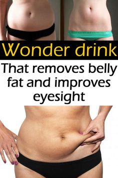 Wonder drink that removes belly fat and improves eyesight