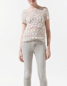 EMBROIDERED BLOUSE by alisha