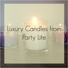 Two Monsters and Me: Luxury Candles from Party Lite #review