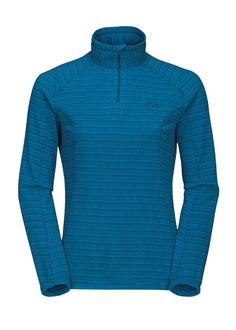 The North Face W's TKA 100 Novelty Glacier 1/4 Zip (Octopus Blue/Acoustic Blue)