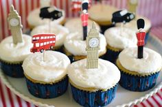 London's calling! Celebrate Prince George's first birthday with your mates using these British-inspired party ideas.
