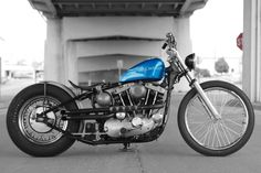 Bike built by me. Photo by my wife,(Carmen Berzinski).  Ironhead ironheadbobber bobber Harley Davidson #harleydavidson #ironhead #ironheadbobber