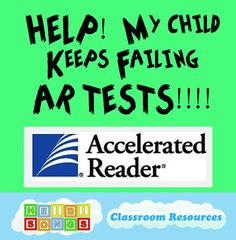 Some great tips and resources for parents (or to send home to parents) on helping kids to pass those Accelerated Reader Tests (or any other online reading program like A-Z Kids). Free resources and printables from Heidi Songs Ar Reading, 4th Grade Reading, Reading Fluency, Reading Skills, Teaching Reading, Learning, Reading Counts, Improve Reading Comprehension, Reading Strategies