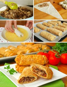 Pastry Recipes, Bread Recipes, Cooking Recipes, Turkish Recipes, Ethnic Recipes, Allrecipes, Food And Drink, Snacks, Meals