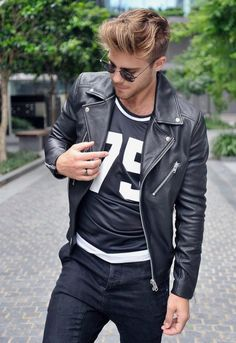 look masculino jaqueta camiseta numero