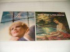 View Item: ~~ 4 Paul Weston Records Jazz LP Mood Music  Columbia CL527 ~~