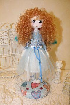 Текстильная интерьерная кукла Ангел. Автор Лисицина Надежда Cinderella, Disney Characters, Fictional Characters, Dolls, Disney Princess, Children, Art, Baby Dolls, Young Children