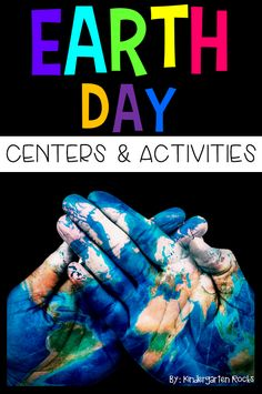 Celebrate Earth Day with hands-on literacy and math centers and activities. This unit will make planning easy during the month of April. Although most of the activities revolve around Earth Day, some of the activities could easily be tied into spring and garden units.  ***Many of the activities are available in colored and black and white versions.