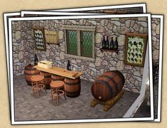 Around the Sims 3 | Downloads | Objects | Other | Wine Cellar