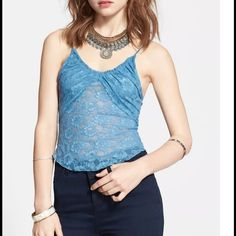 """Free People size S NWT lace ⛔️NO TRADE⛔️Bust: app. 14"""" when flat,  goes up to 19"""" when stretched. Free People Tops"""