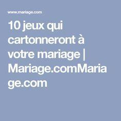 10 jeux qui cartonneront à votre mariage | Mariage.comMariage.com