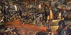 El 7/10/1571 tuvo lugar la batalla de Lepanto, en la que participó nuestro hombre, aunque su papel en la lucha es controvertido
