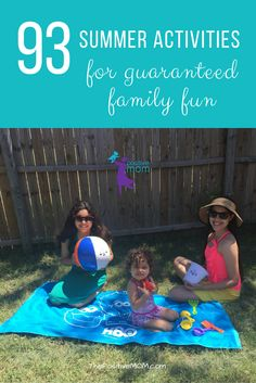 Want to prevent your kids from boredom during summer break? I partnered with HBO to write an entertaining summer checklist for guaranteed family fun!