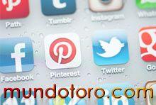 Accede a todas las redes sociales de Mundotoro.