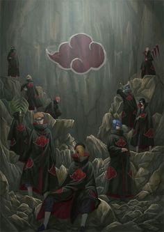 gambar akatsuki, naruto, and anime Naruto Shippuden Sasuke, Naruto Kakashi, Anime Naruto, Manga Anime, Wallpaper Naruto Shippuden, Sasuke Sakura, Naruto Wallpaper, Gaara, Otaku Anime