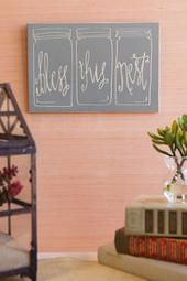 "Bless This Nest 8x12 Wall Art - I want, no, NEED one that reads ""Bless This Mess"" for sure!! One for every room in fact!"