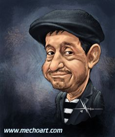 Roberto Gómez Bolaños (b. February 21, 1929 in Mexico City, Mexico) is a Mexican writer, actor, director, comedian, humorist, songwriter and poet. He is best known by his stage name Chespirito. His best known roles were in the shows El Chavo & El Chapulín Colorado, produced by Mexican TV Network Televisa. These two shows have turned in a cultural icon all over Latin America and United States and also have been aired in more than one hundred countries worldwide.