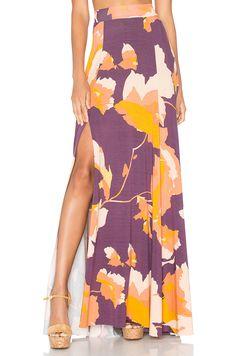 Rachel Pally Josefine Maxi Skirt in Desert Flower