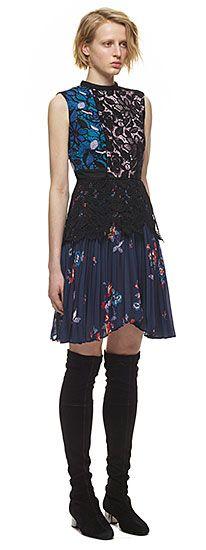 Nina Pleated Mini Dress