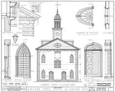 Kirkland Temple cut-away Photo: Kirkland Temple Architectural drawing. This Photo was uploaded by randumbguy Mormon Temples, Lds Temples, Cleveland, Kirtland Temple, Community Of Christ, Ohio, Doctrine And Covenants, Lds Church, Church Ideas