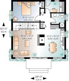 Log Home Plans, Cabin House Plans, Cabin Floor Plans, Best House Plans, Cottage Floor Plans, Small House Floor Plans, Tiny House Luxury, Tiny House Design, House Plans 2 Storey