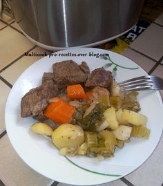 Pot au feu Lorraine, Multicooker, Pot Roast, Slow Cooker, Ethnic Recipes, Food, Alsace, Dinners, Braised Beef