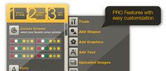 Picktochart software creates infographics in minutes. feature