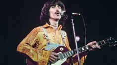George Harrison Performs In Concert 1974