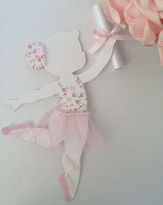 Papetier: Convite A Pequenina Bailarina