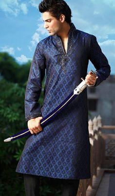 stylish long kurta for men