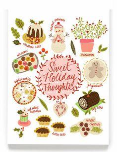 Poppytalk Holiday collection from ecojot. www.ecojot.com