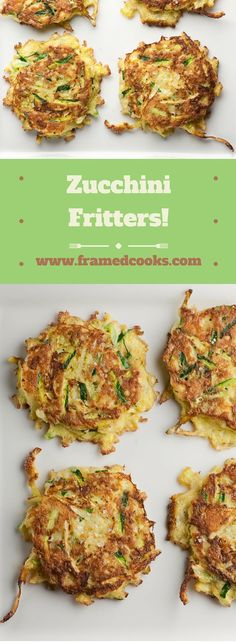Here's what you do with all that summer squash! Make zucchini fritters with this easy recipe.