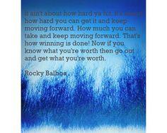 Rocky says it best